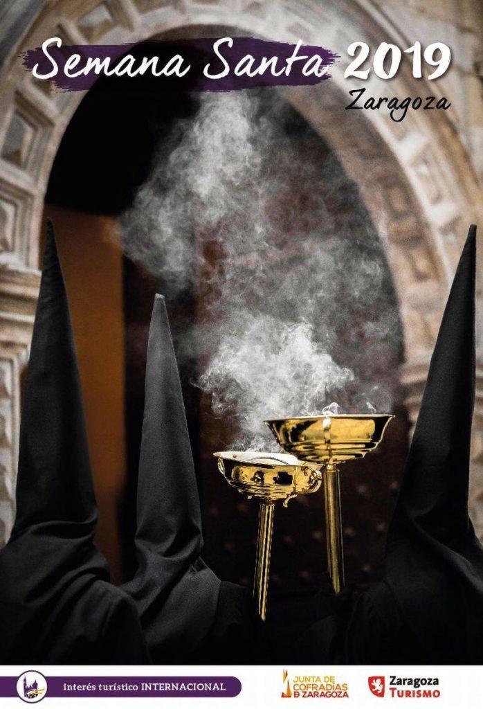 Programa de Semana Santa en Zaragoza 2019 - Recorridos procesiones y vía crucis Domingo de Ramos 14 de abril de 2019 en Zaragoza