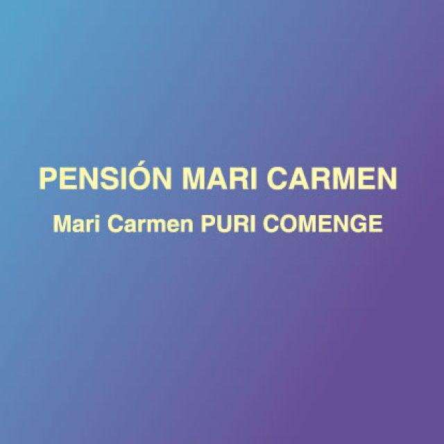 Pensión Mari Carmen